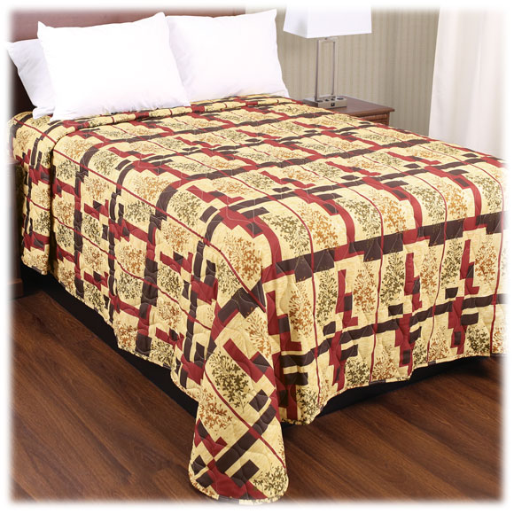 Trevira Quilted Polyester Bedspreads - Hawthorne