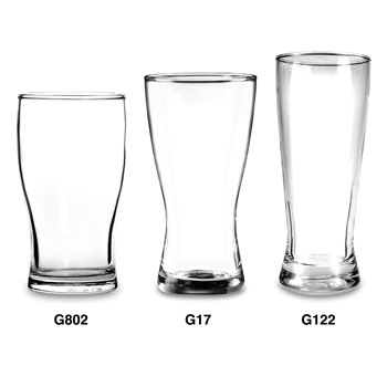 Rim-Tempered Bavarian Glassware