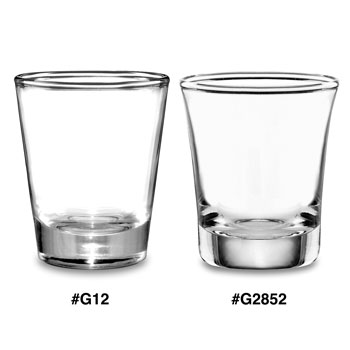 1.5 oz. Shot Glasses