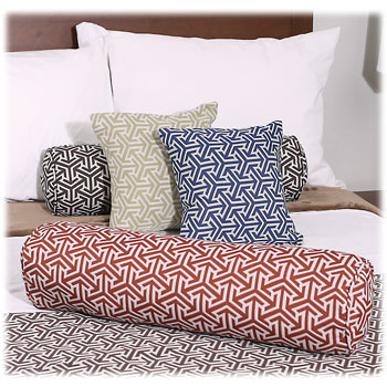 Tri'Aro Decorative Square Pillows & Bolsters