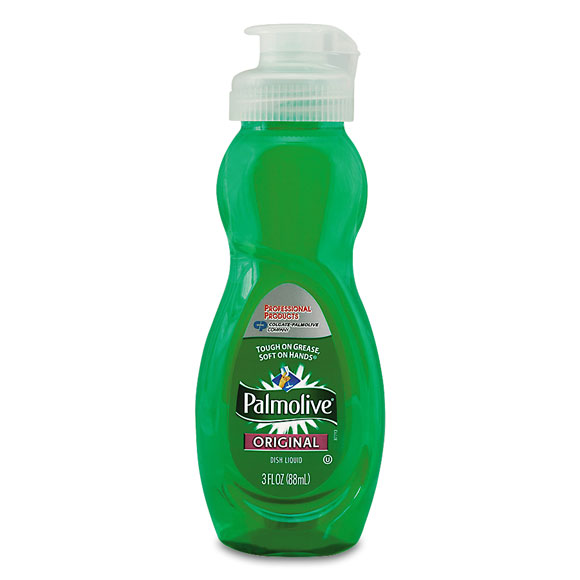 3 oz. Palmolive Dishwashing Liquid - Original Scent - 72/cs.