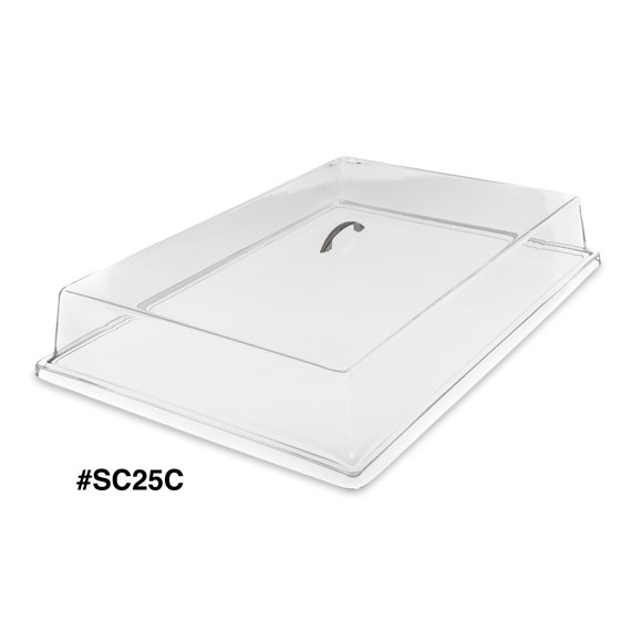 Plastic Serving Tray Covers By Carlisle