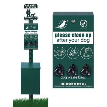 Pet Waste Collection Station