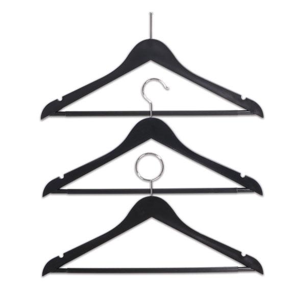 LodgMate Durable Hotel Plastic Hangers