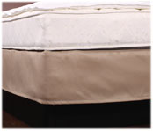 LodgMate Shantung Style Box Spring Covers