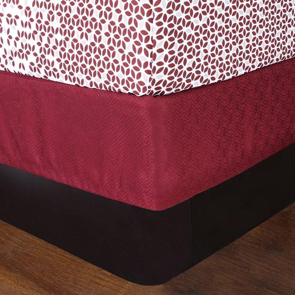 LodgMate Jacquard Box Spring Covers
