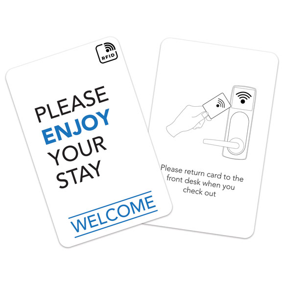 RFID Hotel Key Cards & Envelopes