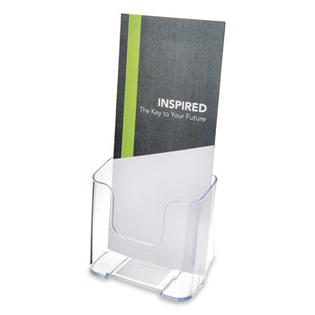 Single Compartment Literature Holder