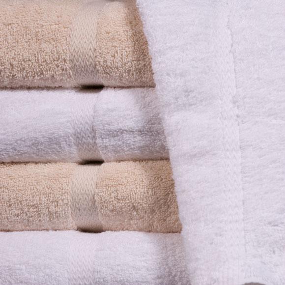 St. Moritz 100% Cotton Beige Guestroom Towels