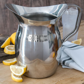 3 qt. Stainless Steel Bell Pitcher