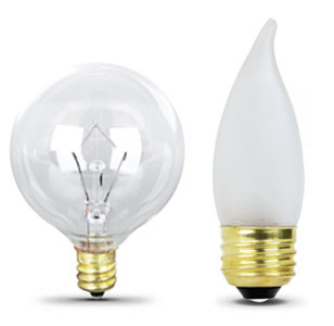 Standard Incandescent Light Bulbs