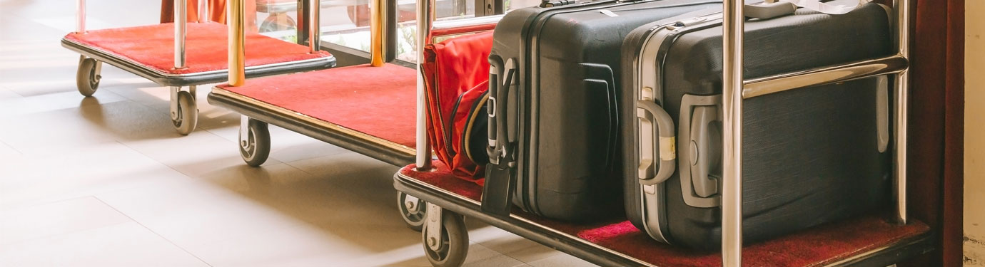 Hotel Luggage Carts / Carriers