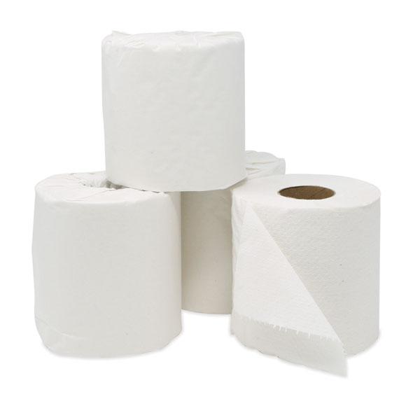 Economy 2-ply Toilet Tissue Rolls - 96 Rolls/cs.