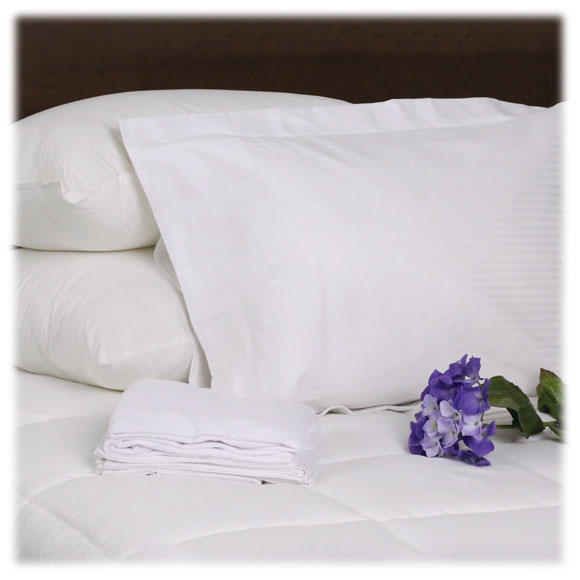 T-310 Tone on Tone Stripe Pillow Shams