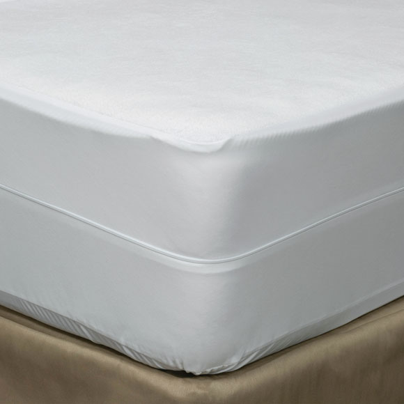 Terry Cloth Zippered Mattress Protectors