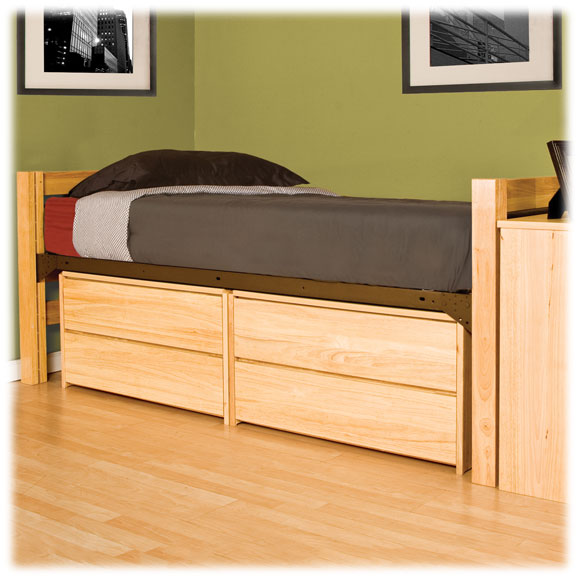 University Loft Twin Xl Bed Collection Dorm Furniture