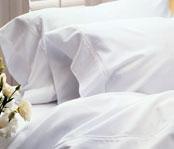 Thomaston Mills Luxury 250-ct. White Sheets & Pillowcases