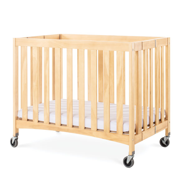 Travel Sleeper Commercial Wood Folding Crib