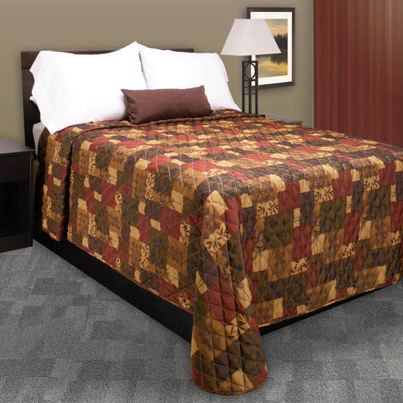 Trevira Quilted Polyester Bedspread Verona