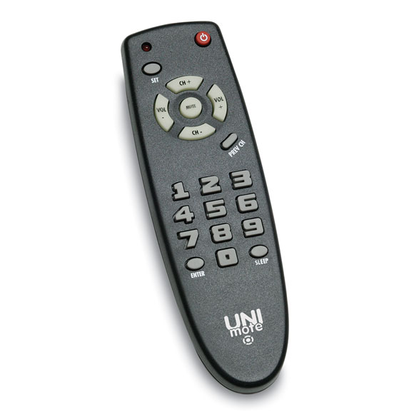 Universal TV Remote w/# Buttons