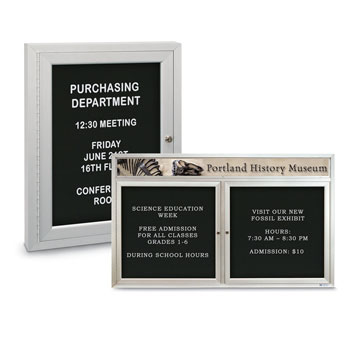 Enclosed Acrylic Letter Boards
