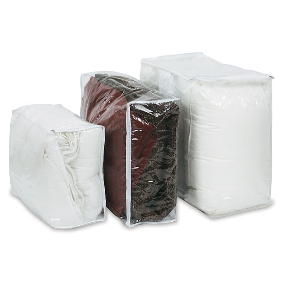 Exceptionnel CLEAR VINYL STORAGE BAGS W/ZIPPER