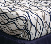 Wavy Stripe Decorative Top Sheets