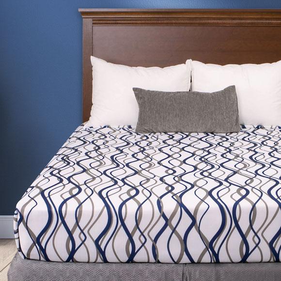 Wavy Stripe Decorative Top Sheets