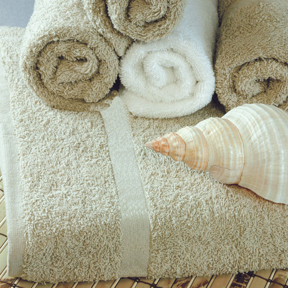 Williams Bay Beige Guestroom Towels
