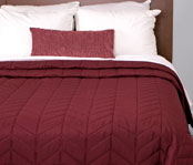 Willow Reversible Pinsonic Quilted Coverlets