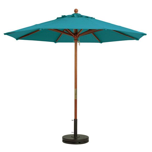 Grosfillex Wooden Market Umbrella National Hospitality