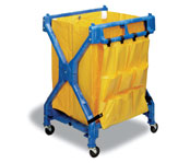 X-Frame Folding Cart w/ Bag