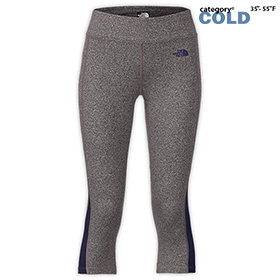 WOMEN'S NORTH FACE PULSE CAPRI TIGHT