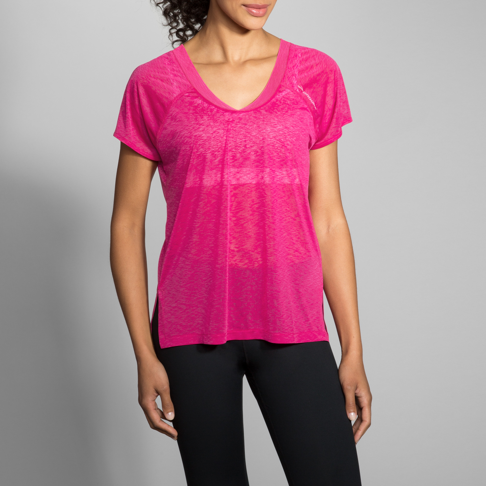 WOMEN'S BROOKS GHOST SHORT SLEEVE
