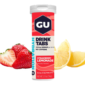 GU HYDRATION DRINK TABS (12CT TUBES) LEMON LIME