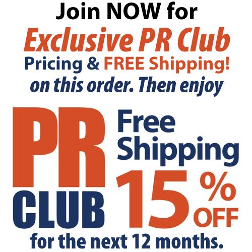 PR CLUB 1 YR MEMBERSHIP