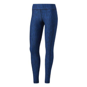 ADIDAS PERFORMER MID-RISE HEATHERED TIGHT WOMEN'S