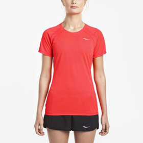 WOMEN'S SAUCONY FREEDOM SHORT SLEEVE