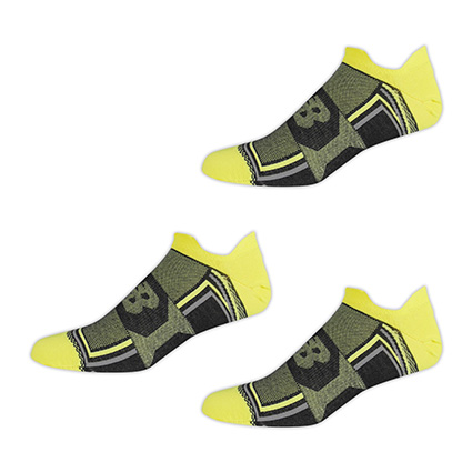 NEW BALANCE NBx HYDROTEC NO SHOW THIN DOUBLE TAB SOCK