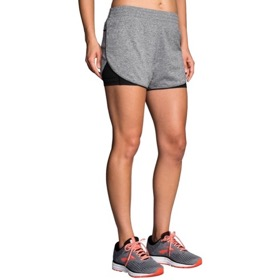 "BROOKS REP 3"" 2-IN-1 SHORT WOMEN'S"