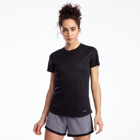 SAUCONY STOPWATCH SHORTSLEEVE TECH TEE WOMEN'S
