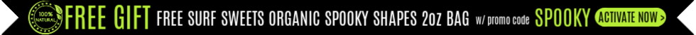 FREE Surf Sweets Organic Spooky Shapes with promo code SPOOKY