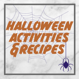 Halloween Activities and Recipes