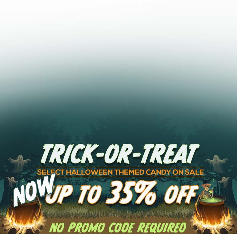 Select Halloween themed candy up to 35% off. Shop All Halloween Candy
