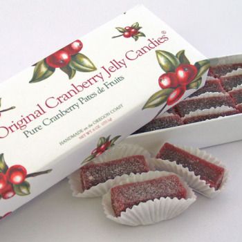 Cranberry Jelly Candy (Pates de Fruits)