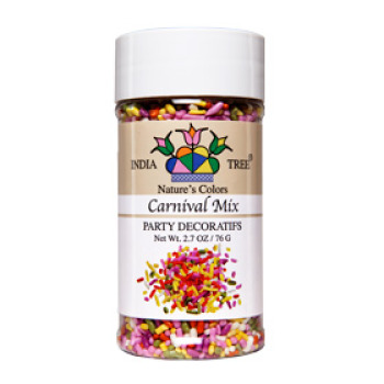 Carnival Mix Natural Sprinkles