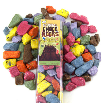 Natural Choco Rocks * 3 OZ Tube