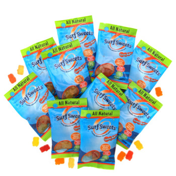 Surf Sweets Natural Gummy Bears - Single Serving Size