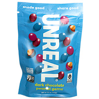Unreal Dark Chocolate Peanut Gems * 5 OZ