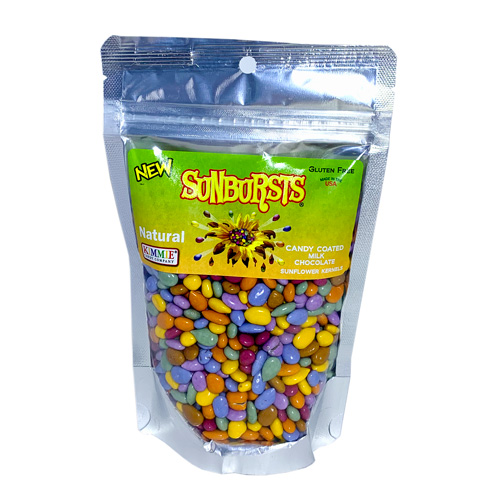 Sunbursts - Natural Candy Coated Sunflower Seeds * 7.4 OZ BAG